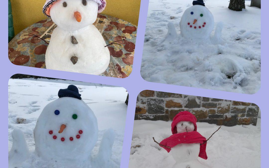Snežni utrinki in sladke dobrote